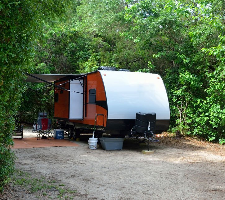 Camping in Myrtle Beach with RV generators