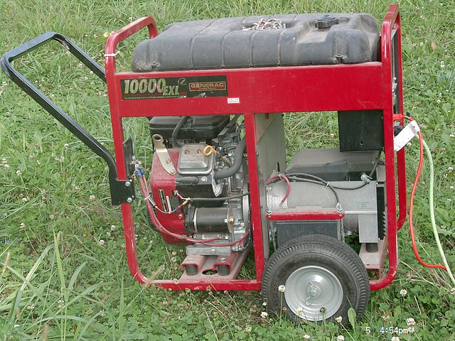 Portable Generator Used for Illegal Backfeeding