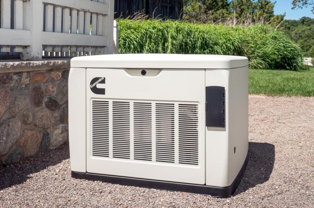 Whole home generator installation in Myrtle Beach